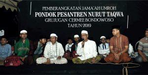 Drs. KH. Salwa Arifin Melepas Jamaah Umroh Nurut Taqwa